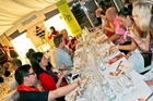 Champagne tasting at the International Noosa Food and Wine Festival. Photo / James Hacon