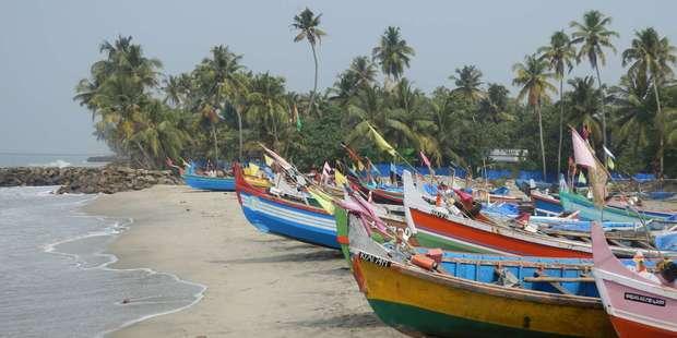 Arakal beach, India. Photo / Peter Waterhouse