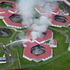 An aerial shot of Springfield Prison Waikato today, where a riot broke out. Photo / Doug Sherring