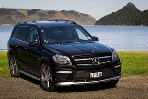 AMG Mercedes GL63 V8 Bi Turbo Photographed for Driven in Auckland. 14 May 2013 NZ Herald photo by Ted Baghurst.