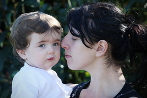 Toni Alexander with her daughter Ava Alexander-Thomas. Photo / Joel Ford