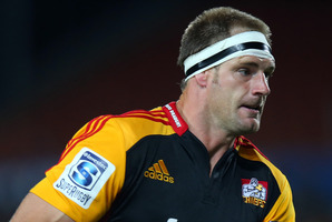 Craig Clarke may be the answer to the All Blacks' woes at lock. Photo / Getty Images