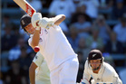 Jonathan Trott of England bats. Photo / Getty Images