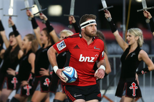 Number eight Kieran Read didn't emerge for the second half in the Crusaders' 23-22 Super Rugby victory over the Waratahs. Photo / Getty Images
