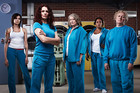 The cast of Wentworth starring Danielle Cormack as Bea Smith. Photo / Supplied