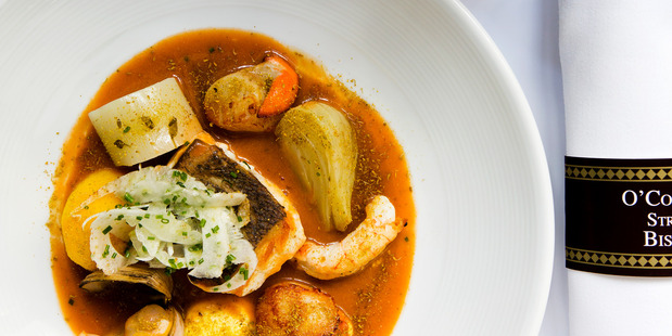 Bouillabaisse from O'Connell St. Bistro. Photo / Babiche Martens