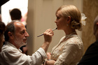 Makeup designer Maurizio Silvi (with Carey Mulligan) created the glamorous look for the 'The Great Gatsby'. Photo / Supplied