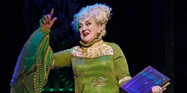 Actress Maggie Kirkpatrick, who plays Madame Morrible in the musical Wicked, says her character is has more depth than some villains she's played.  Photo / Supplied