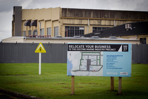 So far only one of an anticipated 20 marine firms has set up business in Yard 37 at Hobsonville. Photo / Natalie Slade