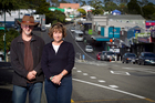 Peter Brennan and Dianne Kidd of the Helensville community action group are lobbying for progress. Photo / Natalie Slade