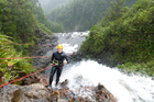Canyoning in the Kauaeranga Valley on the Coromandel. Photo / Ben Crawford