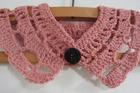 Craft crochet collar. Photo / Supplied