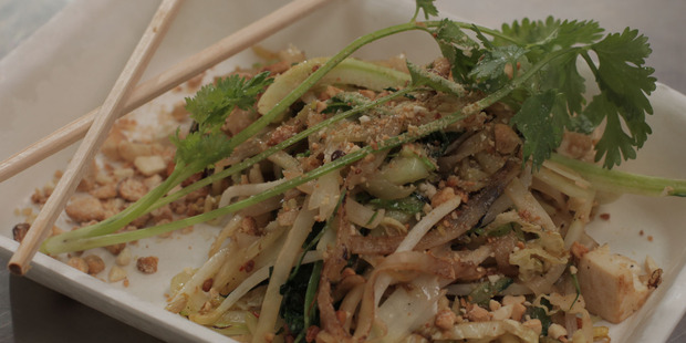 Pad Thai made by Michael Van De Elzen. Photo / Supplied