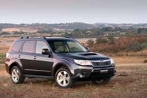 Subaru Forester (2008). Photo / Supplied