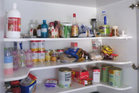 The kitchen pantry in one NZ meth lab. Photo / Supplied