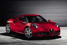 Alfa Romeo 4C to debut at Geneva. Photo / Supplied