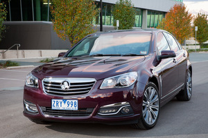 Holden's VF Commodore will be sold as the Chevy SS in North America. Photo / Supplied