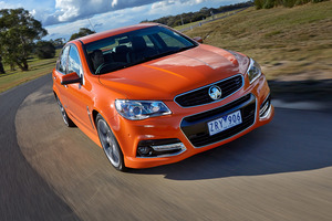 The Holden Commodore VFSS in the hero colour fantail.