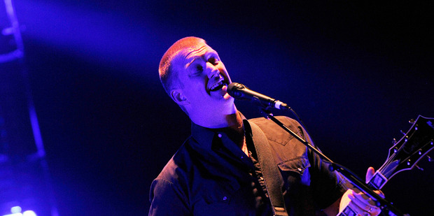 Josh Homme of the band Queens of the Stone Age. Photo / AP