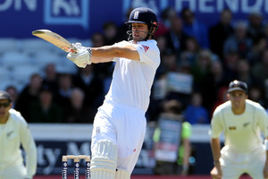 England's captain Alastair Cook. Photo / AP
