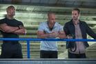 Dwayne Johnson, Vin Diesel and Paul Walker in 'Fast & Furious 6'. Photo / AP