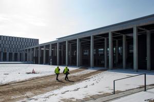 The new Berlin Brandenburg International Airport. Photo / AP