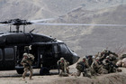 Details of Black Hawk helicopters may be known to the Chinese after a cyber attack, as well as missiles and other weapons systems.  Photo / AP