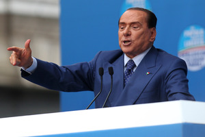 Those charged included Toto Riina, a jailed Cosa Nostra boss, Nicola Mancino, a former Interior Minister, and Marcello Dell'Utri, a close aide of Silvio Berlusconi, the former Prime Minister. Photo / AP