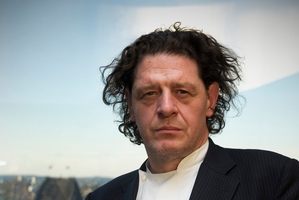 Marco Pierre White looks moody - or is that just the lighting. Photo / Supplied