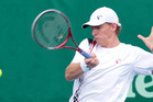 World No. 27 Kevin Anderson is being coached by GD Jones. Photo / Richard Robinson