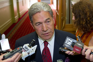 NZ First leader Winston Peters. Photo / NZ Herald