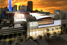 One idea ... an artist's impression of the proposed SkyCity convention centre. Photo / Supplied