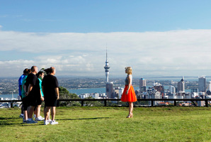 An episode from the programme The Biggest Loser. Photo / Tourism NZ
