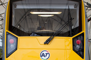 The first of Auckland's 57 electric trains are due to arrive from Spain in September. Photo / Sarah Ivey