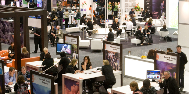 Trade shows are a fantastic way to gain valuable market intelligence. Photo / APN