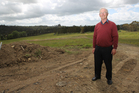 Local Paul Robinson has been concerned for a decade about how the Swanson land is developed.  Photo / APN