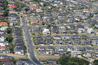 Aerial view of Property houses in Rosedale, Auckland. Photo / Chris Gorman