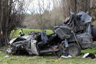 Four people died in this Hawke's Bay accident last year. Photo / Duncan Brown