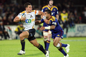 Matt Toomua said he could see similarities between this Hurricanes side and the surprise-packet Blues team. Photo / File