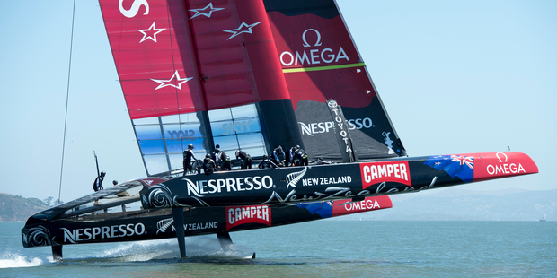 The new America's Cup safety recommendations could raise Emirates Team New Zealand's challenge credentials. Photo / Chris Camerson/ ETNZ