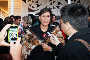 "Labour leader David Shearer last night said Ms Whaitiri was ""an outstanding candidate"". Photo / Paul Taylor"