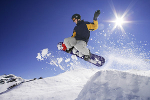 The outlook doesn't look good for skiers and snowboarders. Photo / Supplied