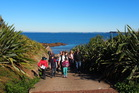 A guided tour of Tiritiri Matangi is suitable for all ages. Photo / Supplied