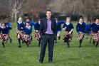Principal Scott Thelning is bringing back bullrush to Cobham Intermediate in Christchurch to encourage risk-taking and development among pupils. Photo / Martin Hunter