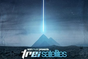 Album cover for Satellites. Photo / Supplied