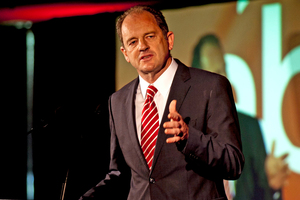 David Shearer's griping at John Key's every move is pure opposition politics and not working for him. Photo / Dean Purcell