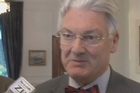 Revenue Minister Peter Dunne has refused to answer any questions over the leaked GCSB report.