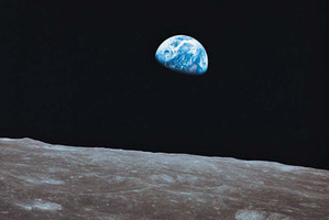 Scientists are wanting to place a telescope on the moon looking back at earth. Photo / Thinkstock
