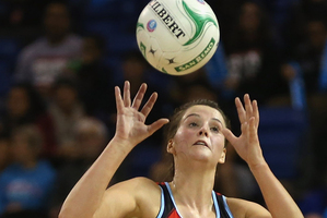 Sophia Fenwick of the Tactix scored 33 goals. Photo / Getty Images