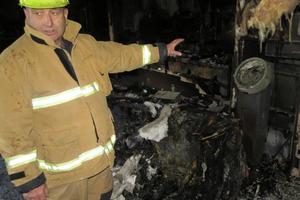 Southern region fire safety officer Stuart Ide. Photo / James Beech
